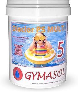comprar comparacion GYMASOL-Cloro Especial Mini Piscinas, 5 acciones, Tabletas 20 Gramos, Bote 1 Kilo