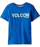 Volcom Kids - Warp Short Sleeve Tee (Toddler/Little Kids)