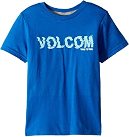 Volcom Kids - Warp Short Sleeve Tee (Toddler/Little Kids)