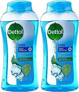 Dettol Cool Liquid Antibacterial Body wash, 2 X 250 ml - Pack of 1