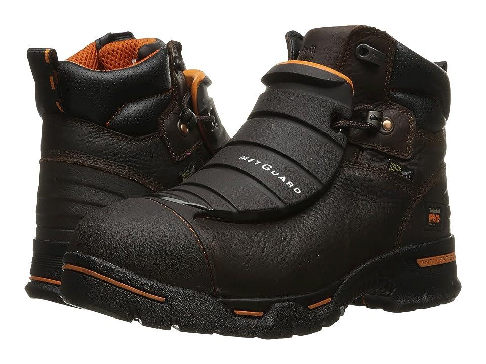 Timberland PRO Endurance 6 External Met Guard Steel Toe (Brown Full Grain Leather) Men