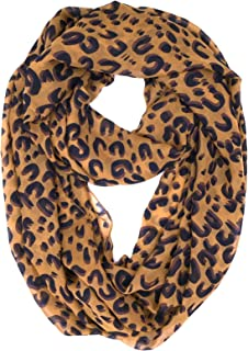 ™ Premium Soft Multicolor Sheer Infinity Scarf