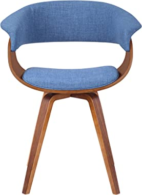 Armen Living Summer Dining Chair, Blue