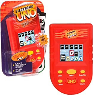 Basic Fun UNO Electronic Handheld Game with Full Color Screen
