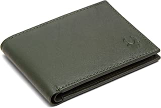 WildHorn® RFID Protected Genuine Leather Wallet for Men's