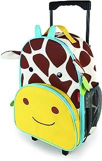 Skip Hop Zoo Little Kid Rolling Luggage, Jiraffe