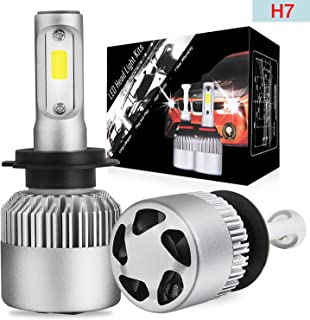 LED Headlight Bulbs Conversion Kit OFFROADTOWN H7 OSRAM Chip 10000 Lumen Extremely Bright 100w Cool White