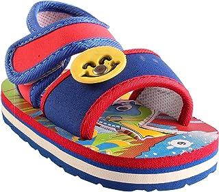 Hopscotch CHIU Chu-Chu Sound Blue Sandal for Baby Boys & Baby Girls (9-12 Months)
