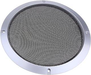 Baoblaze Metall Silber Auto Audio Lautsprecher Subwoofer Schutzgitter Abdeckung, 4 Zoll / 5 Zoll / 6,5 Zoll / 8 Zoll / 10 Zoll   8 Zoll
