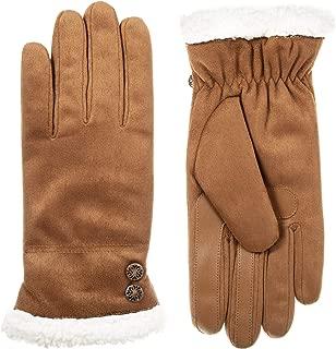 Women's Microfiber Touchscreen Gloves W/Water Repellent Technology