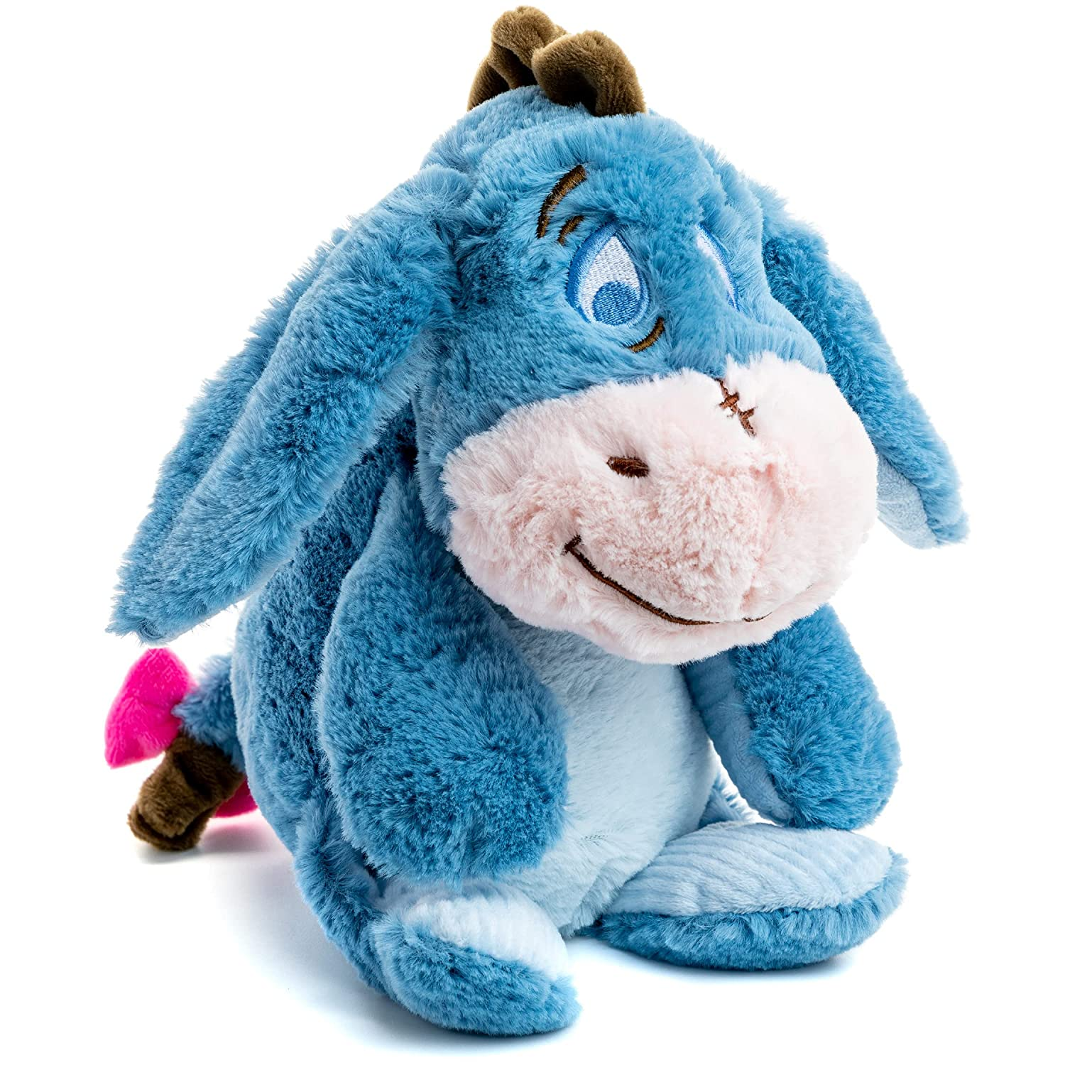 Amazon Com Disney Baby Winnie The Pooh And Friends Stuffed Animal With Jingle And Crinkle Eeyore Plush Toys Toys Games