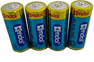 KENDAL Ultra Power Alkaline 1.5v MN9100 LR1 N Size Batteries 4 Count