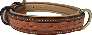 Soft Touch Collars - Padded Leather Dog Collar, Custom Handmade Hand Tooled