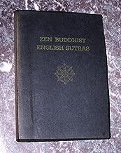Soto Zen Sect English Sutras