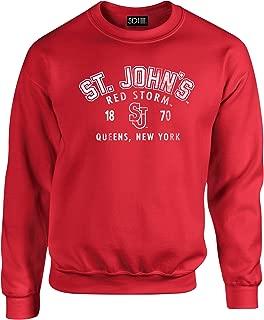 NCAA Iowa State Cyclones Unisex 50/50 Blended 8 oz. Crewneck Sweatshirt, Cardina