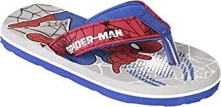 Spiderman by Kidsville Grey Color Boy's Flip-Flop 6 Kids UK (23 EU) (SM0EBF909 (S-18))