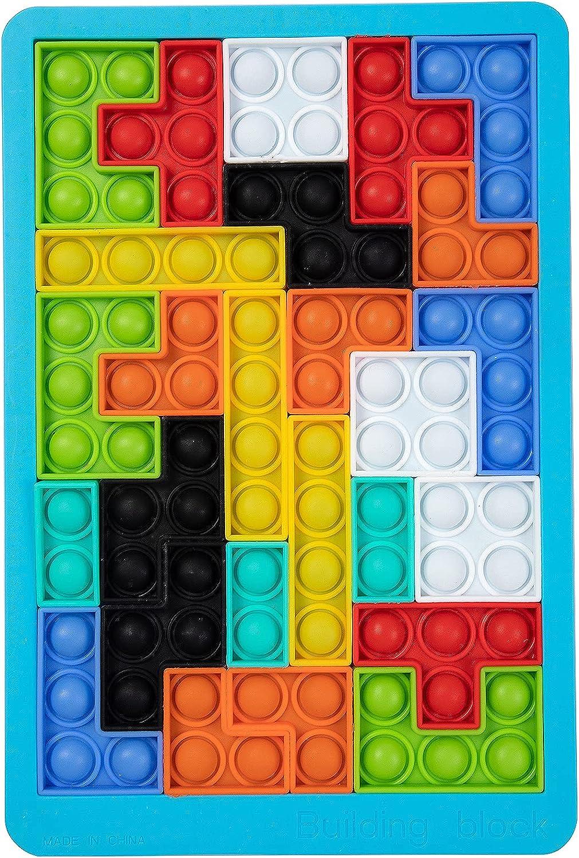 GooKit Very popular Push Translated Bubble Sensory Fidget Jigsaw Puzzle Tetris Toys
