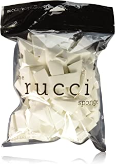 Rucci Latex-Free Hypoallergenic Washable Wedges, 100 Count