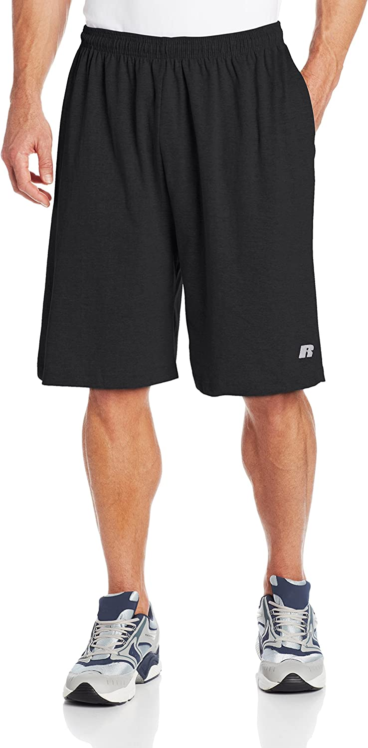 Russell Athletic Men's Big & Tall Cotton Jersey Pull-On Short at  Men's Clothing store: Jersey Shorts For Men