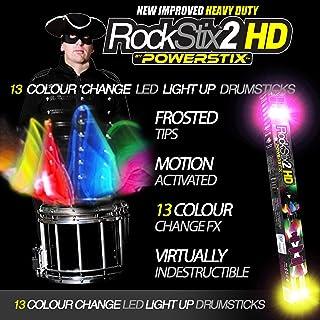 PAIR of ROCKSTIX 2 PRO - COLOUR CHANGING LED LIGHT UP...