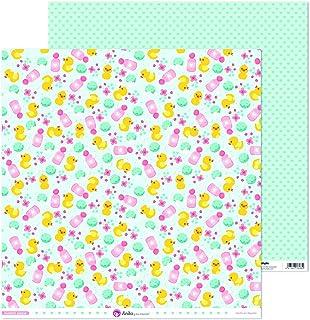 Anita y Su Mundo Collection Notre petit papier de scrapbooking, papier, canards, 30,5 x 30,5 cm