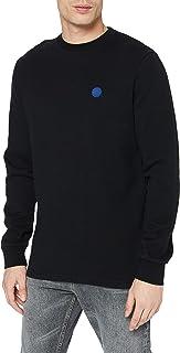 Scotch & Soda Men's Baumwoll Sweatshirt Mit Rundhalsausschnitt