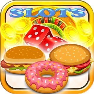 Hamburger Donut Slots Free Casino Jackpot 2015 Vegas Slot Machine Free Multiple Reels Payline Bonus 100 Line Fortune Resta...