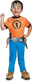 Disguise Rusty Classic Toddler Child Costume, Orange, Medium/(3T-4T)