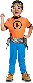 Disguise Rusty Classic Toddler Child Costume, Orange, Medium/(3T-4T)