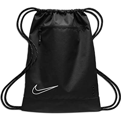 Nike Elite Gym Sack (Black/Black/White) Backpack Bags