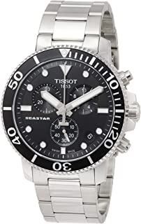 Tissot mens Seastar 660/1000 Stainless Steel Casual Watch Grey T1204171105100