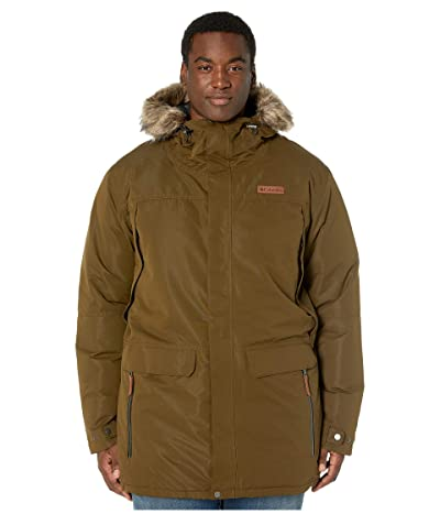 Columbia Big Tall South Canyontm Long Down Parka (Olive Green) Men