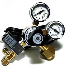 Up Aqua CO2 Regulator with 2 Gauges and Adjustable Valve