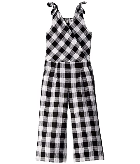 fc4fbe4cff HABITUAL girl Kasie Yarn-Dye Plaid Jumpsuit (Big Kids) at Zappos.com