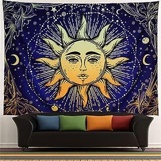 sun and moon mandala tapestry