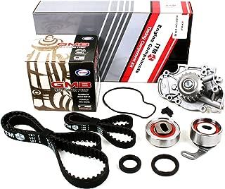 New ITM186WP (113 Round Teeth) Timing Belt Kit (w/ Cam & Crankshaft Front Seals) and Water Pump Set (GMB) for Honda 2.2L F22A F22B SOHC NON-VTEC