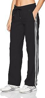 Adidas para Mujer Essentials algodón Polar 3S Dobladillo Abierto Pantalones