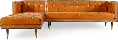 Enjoyable Amazon Com Kardiel Woodrow Midcentury Modern Box Sofa Cjindustries Chair Design For Home Cjindustriesco