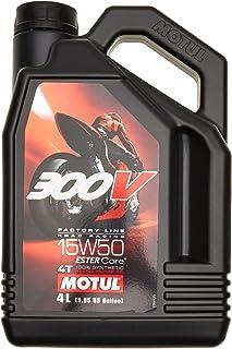 Motul olie motorfiets 15W50 4T Syn 300v FL Road Racing 4L 104129 3374650247670