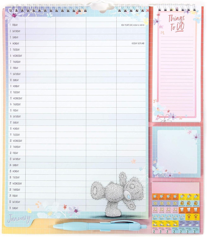 Me To You Haushaltsplaner 10 mit Kalender, Aufklebern, Einkaufs ...