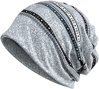 Chemo Cap Turban Headwear Womens Soft Beanie Headwrap for Hairloss