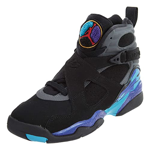 best website 54205 71c55 Jordan Nike Air 8 Retro Aqua (GS) Boys  Basketball Shoes 305368-025