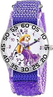 Kids' W001670 Rapunzel Analog Display Analog Quartz Purple Watch