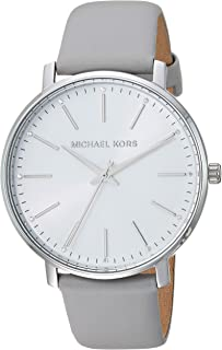Michael Kors Women's Quartz Watch analog Display and Leather Strap, MK2797