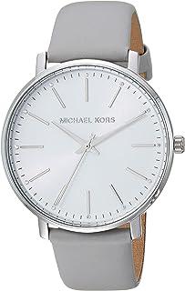 Michael Kors Women's Quartz Watch analog Display and Leather Strap, MK2797
