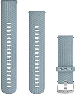 GARMIN(ガーミン) Quick Release バンド 20mm SeafoamStainless シリコン 010-12691-16