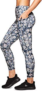 RBX Active Women's Printed Running Workout Yoga Leggings