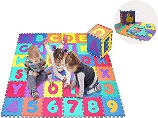 Star Ibaby Alfombra Puzzle Bebé 36 Piezas - 195x195 cm -