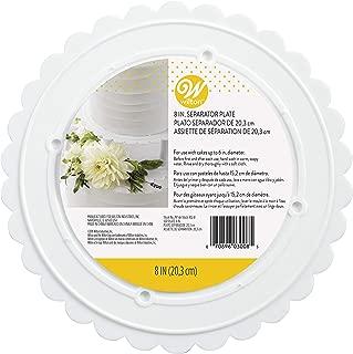 Wilton 302-8 Decorator Preferred Round Separator Plate for Cakes, 8-Inch