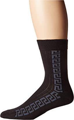 Greca Key Strip Sock